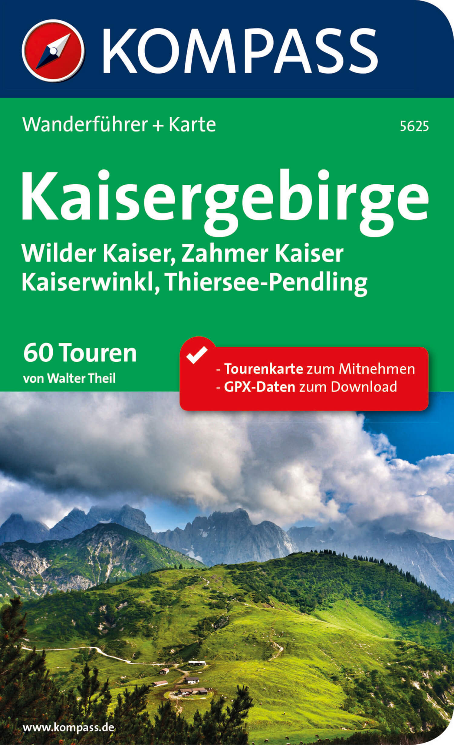 KOMPASS-WF-5625-Kaisergebirge-Cover