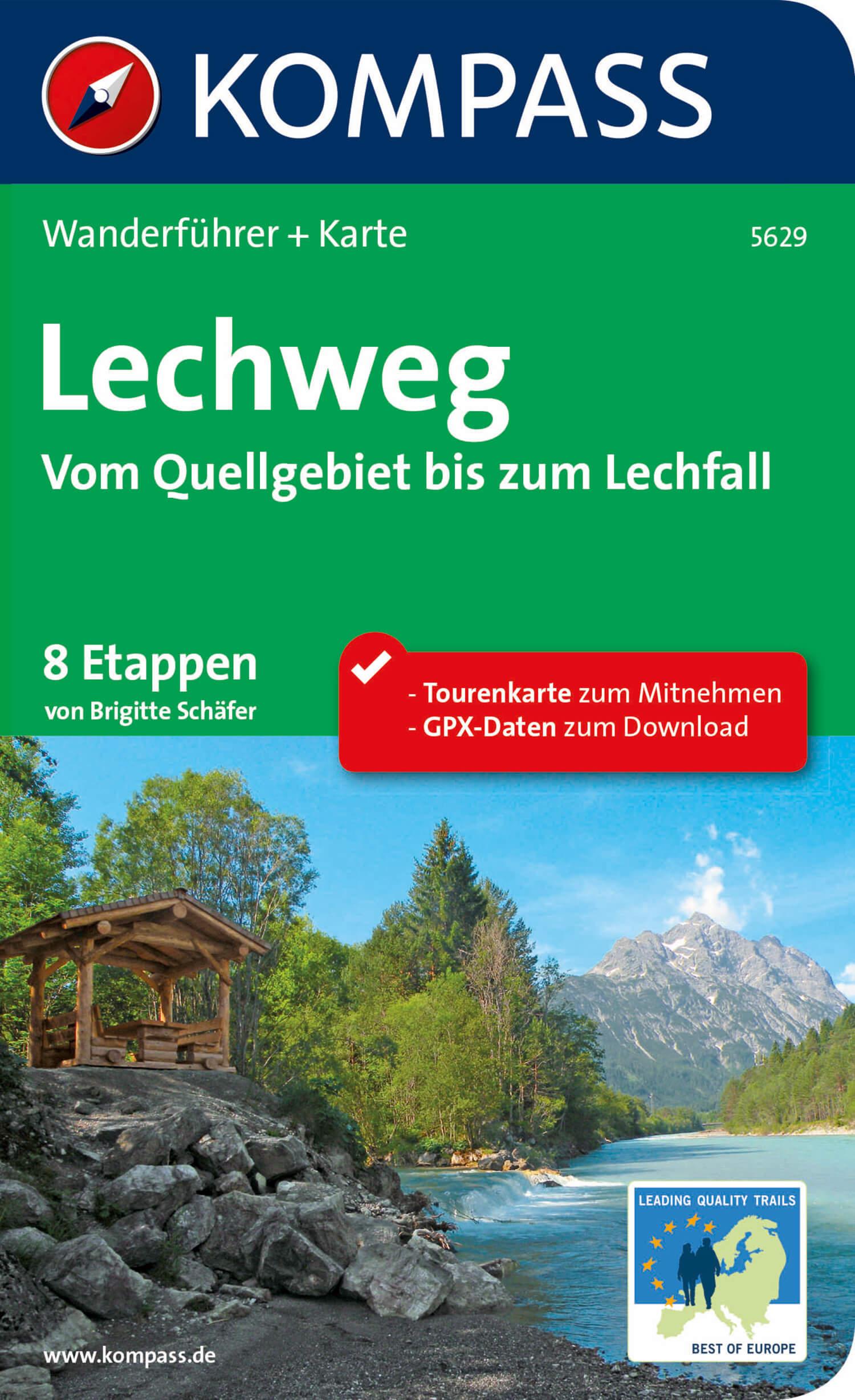 KOMPASS-WF-5629-Lechweg-Cover