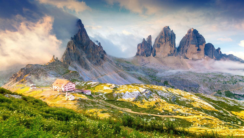 Die Drei Zinnen in Südtirol – das Wahrzeichen der Dolomiten