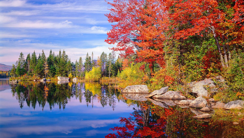 Der Blätterzauber beginnt im Süden Ostkanadas und breitet sich nach Neuengland aus
