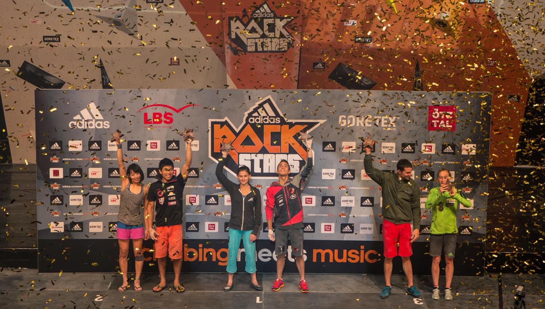 Die Sieger des adidas Rockstars 2015
