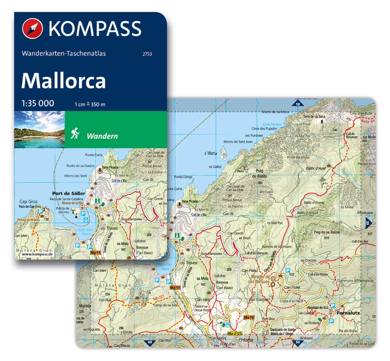ð KOMPASS WT 2753 Mallorca – Kartografie
