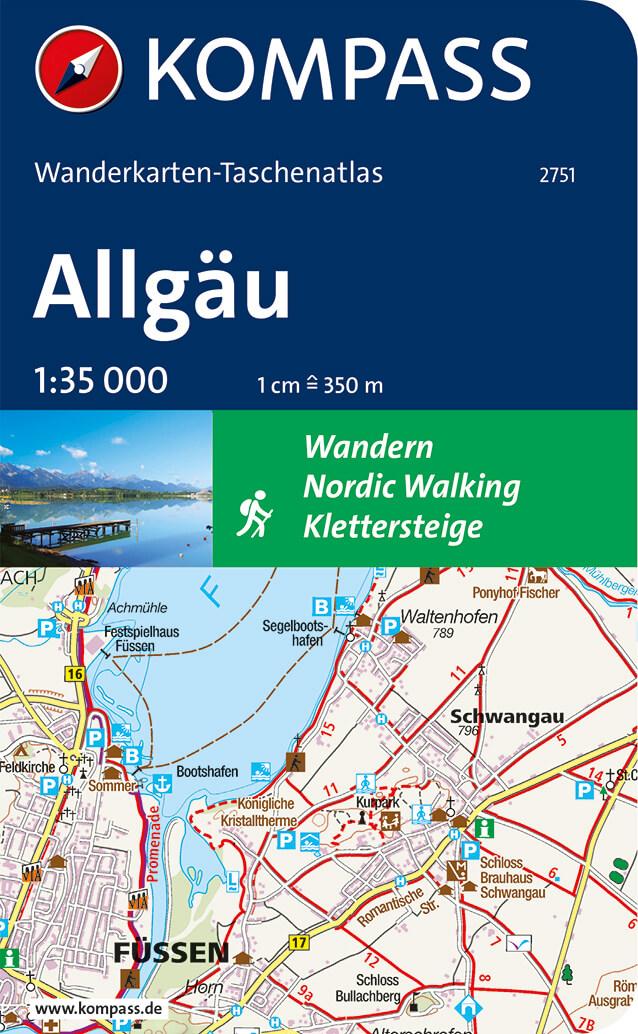ð KOMPASS WT 2751 Allgäu – Titelbild