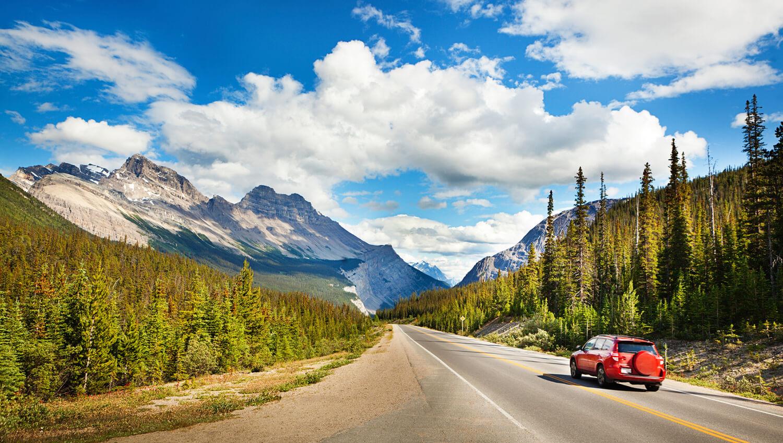 Der berühmte Banff-Nationalpark in der kanadischen Provinz Alberta