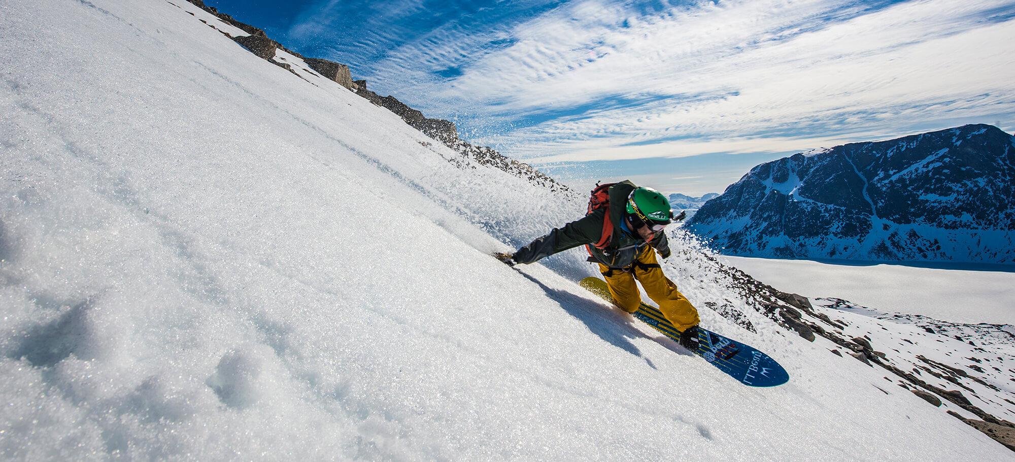 Snowboard-Action im neunen Warren Miller Skifilm
