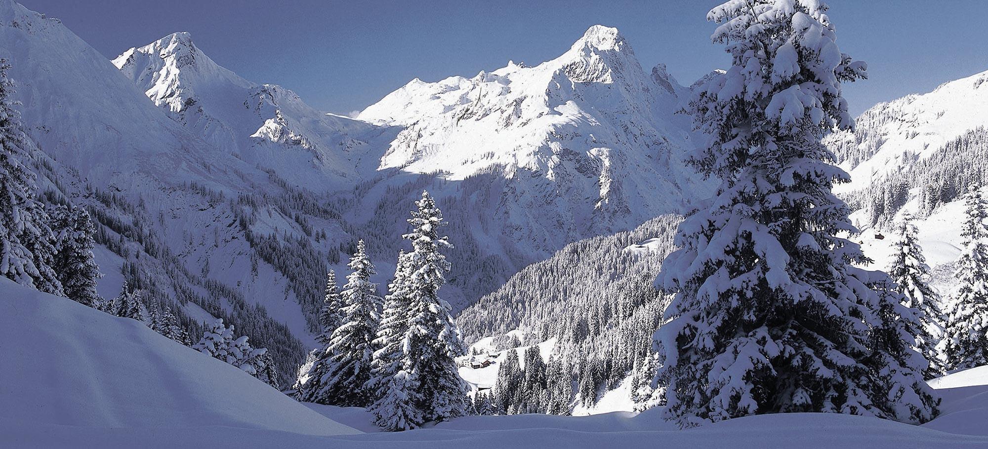 Winterberge im Bregenzerwald