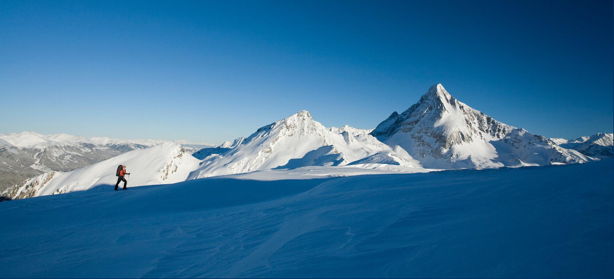 Skitourengeher im Zillertal