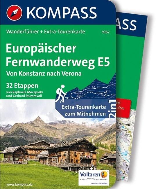Wanderführer Europäischer Fernwanderweg E5