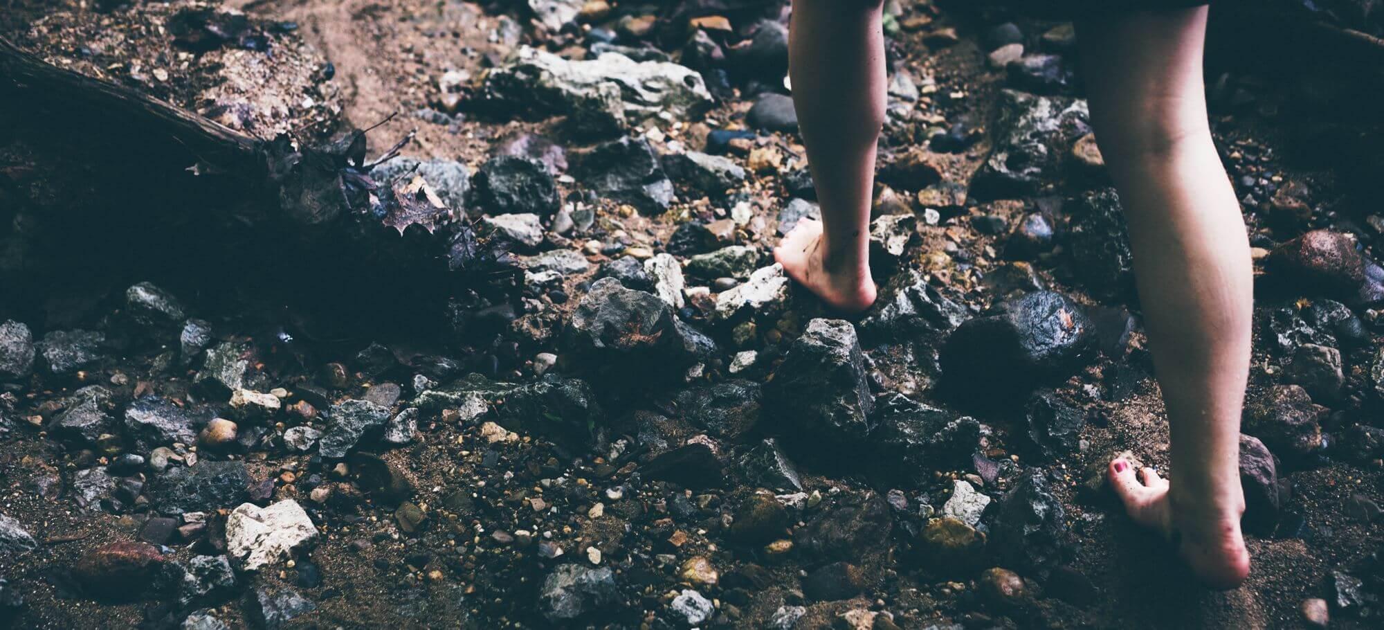 Barfuß laufen ist gesund