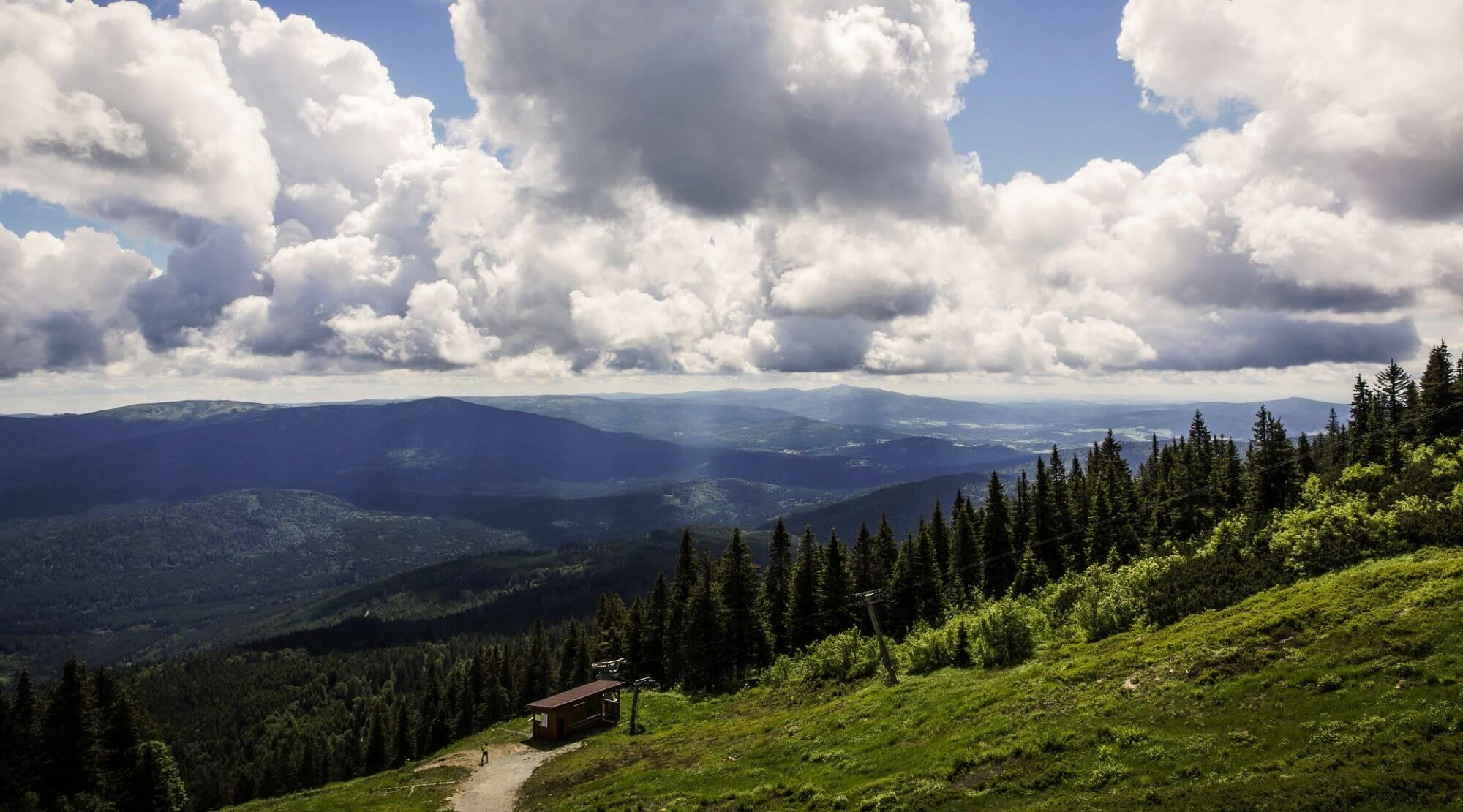 Goldsteig durch den bayerischen Wald