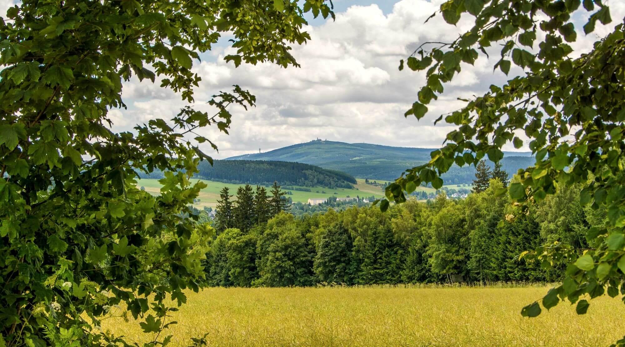 Kammweg im Erzgebirge