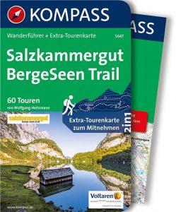Wander Tourenkarten Salzkammergut BergeSeen Trail