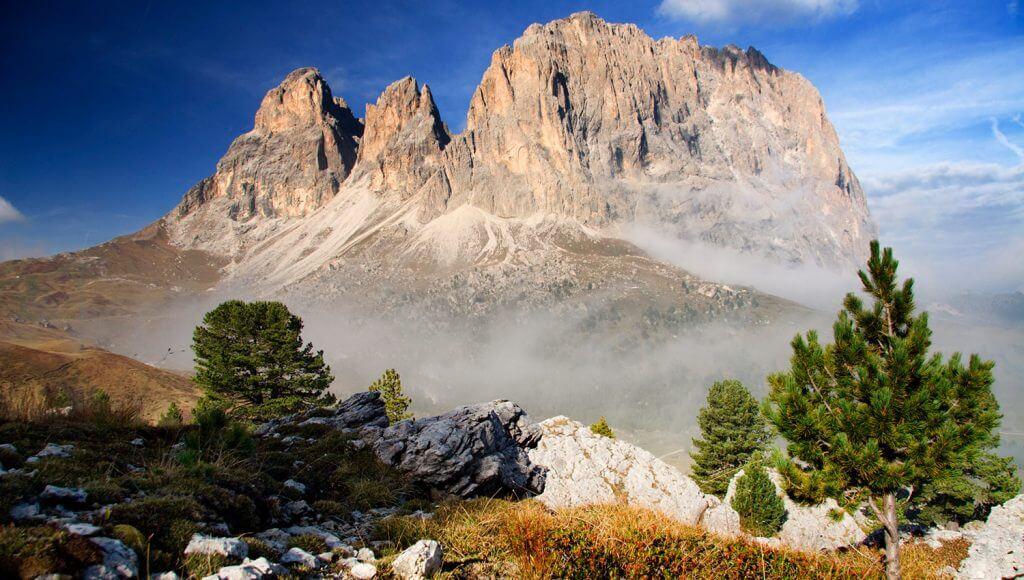 Höhenwege in den Alpen: Dolomiten