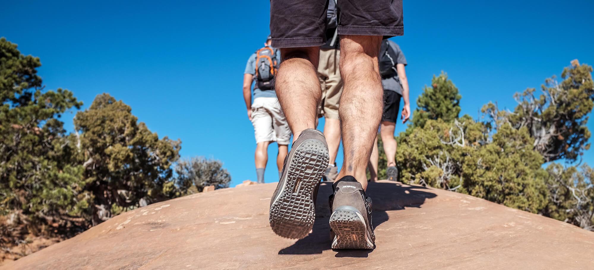 Muskelkater beim Wandern