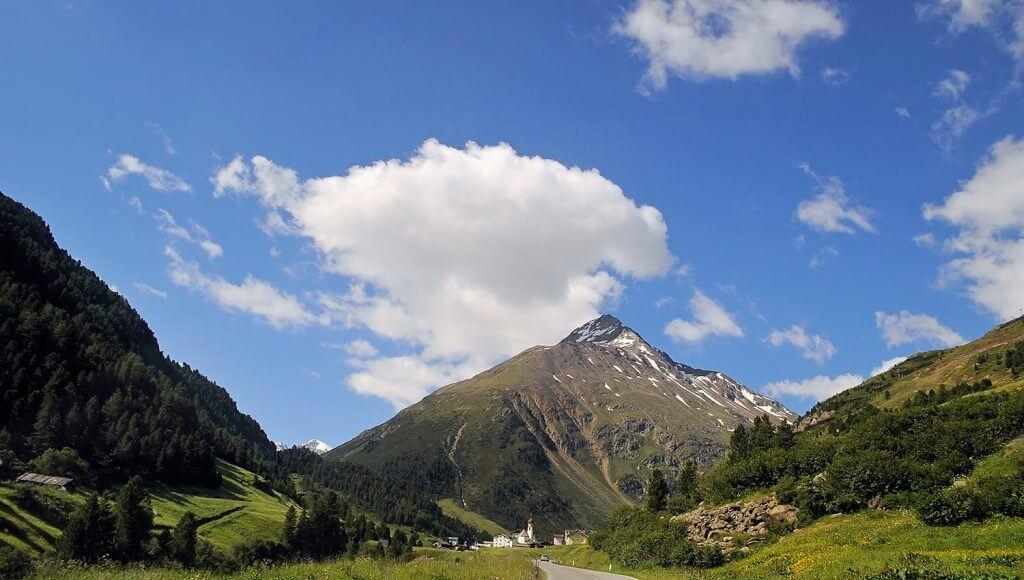 Höhenwege in den Alpen: Im Ötztal