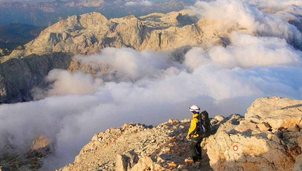 Höhenwege in den Alpen: Im Triglav-Nationalpark in Slowenien