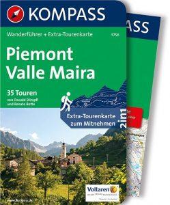 KOMPASS Wanderführer Piemont Valle Maira
