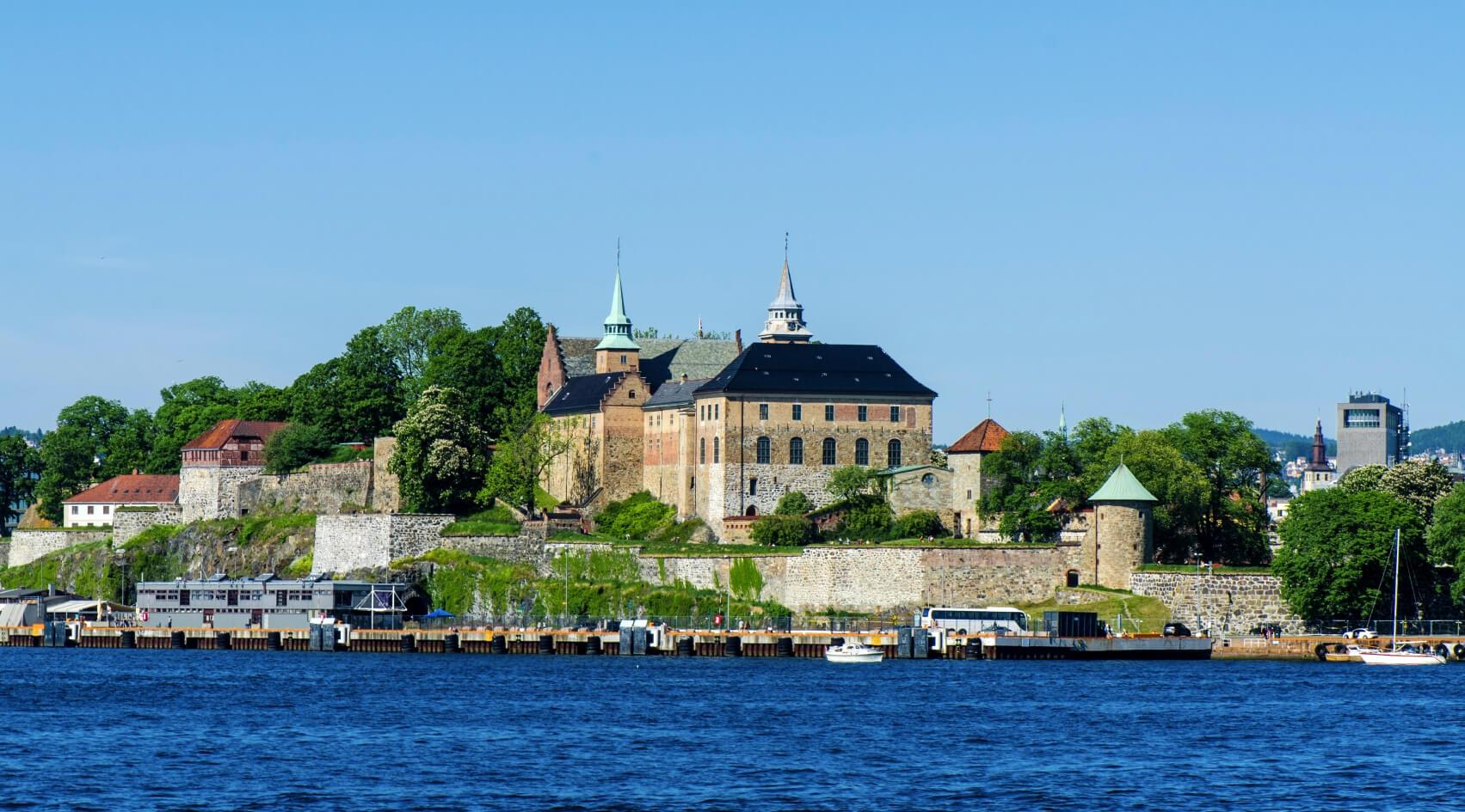 Burg Festung Akershus in Oslo, Norwegen