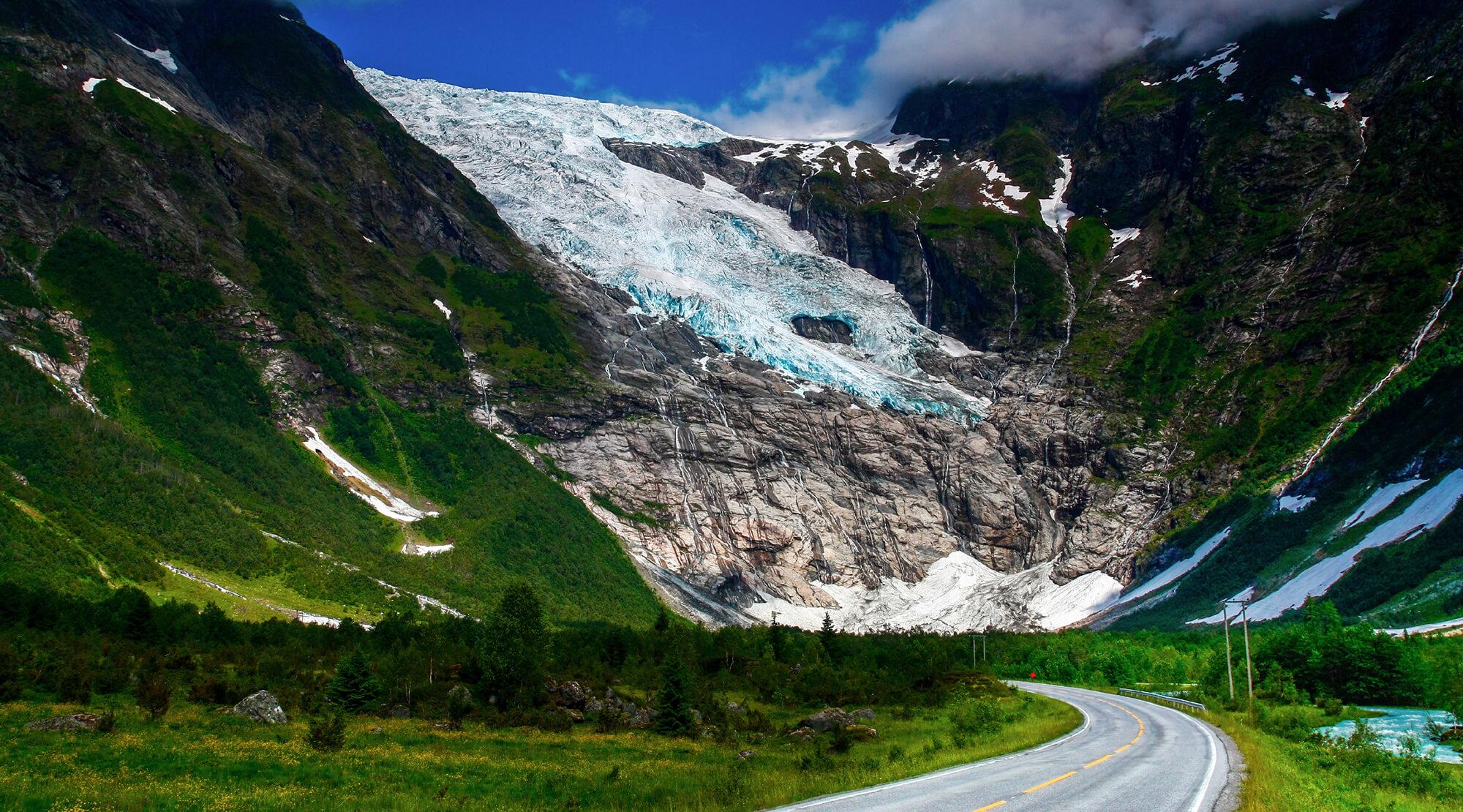 Jostedalsbreen, Gletscher, Norwegen