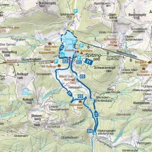 Topografische Karte Schleswig Holstein Hohe Relief