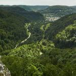 Wandern mit Ausblick in der Schwäbischen Alb