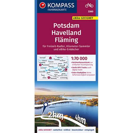Fahrradkarte Potsdam Radkarte