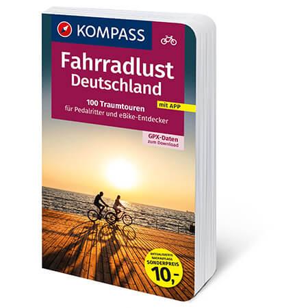 Fahrradlust Cover Deutschland Fahrradführer