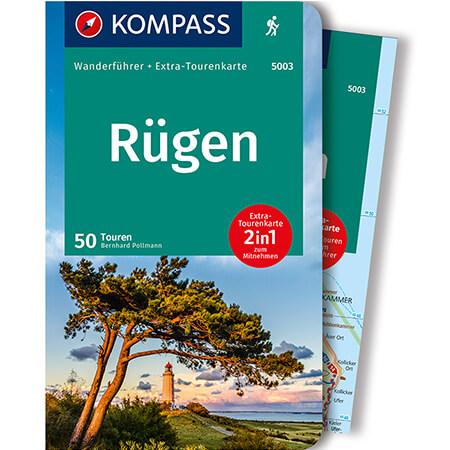 Wanderführer Rügen mit extra Tourenkarte