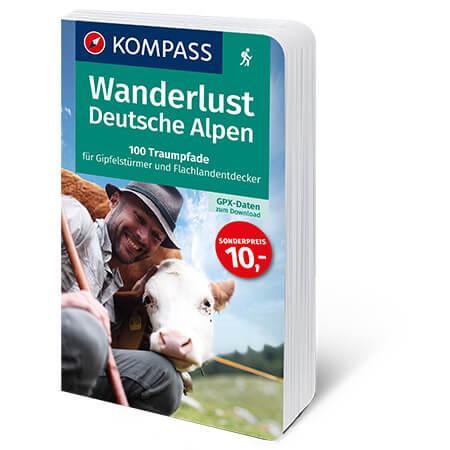 Wanderlust Deutsche Alpen Cover